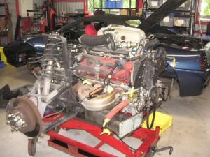 フェラーリ348EG オーバーホール