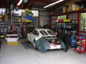 ポルシェ930ターボ エンジン オーバーホール